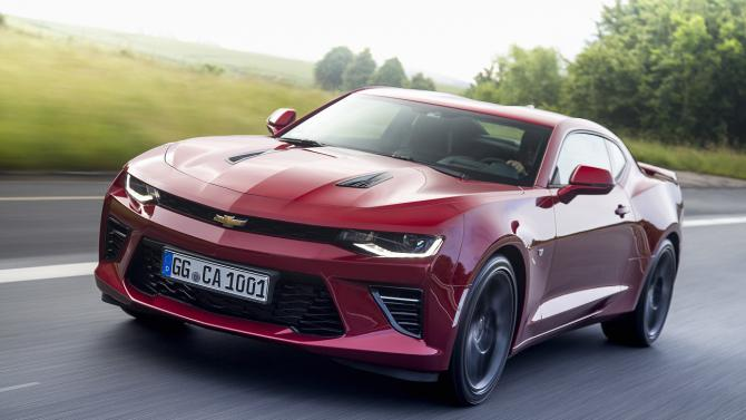 De Chevrolet Camaro Coupe