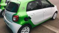 De Smart Fourfour Electric Drive