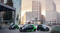 De Smart Electric Drive-modellen